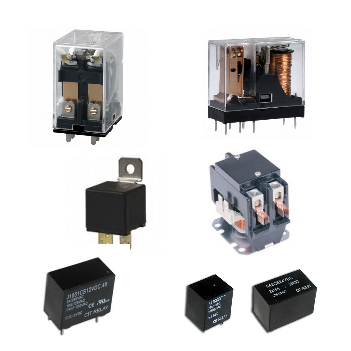 Relays & Contactors | Relay Distributors | ES Electronics | ES ...