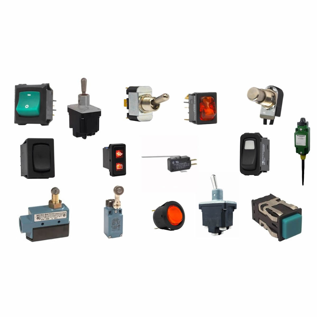 Electronic Switches | Honeywell Switches | ES Electronics | ES ...