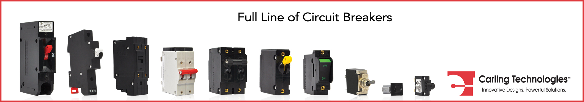 Carling circuit breakers